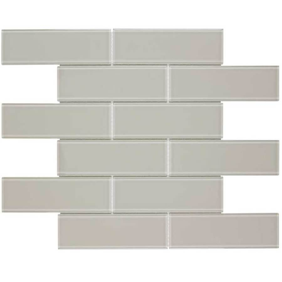 elida ceramica highlight subway 12 in x 12 in glossy glass subway wall tile
