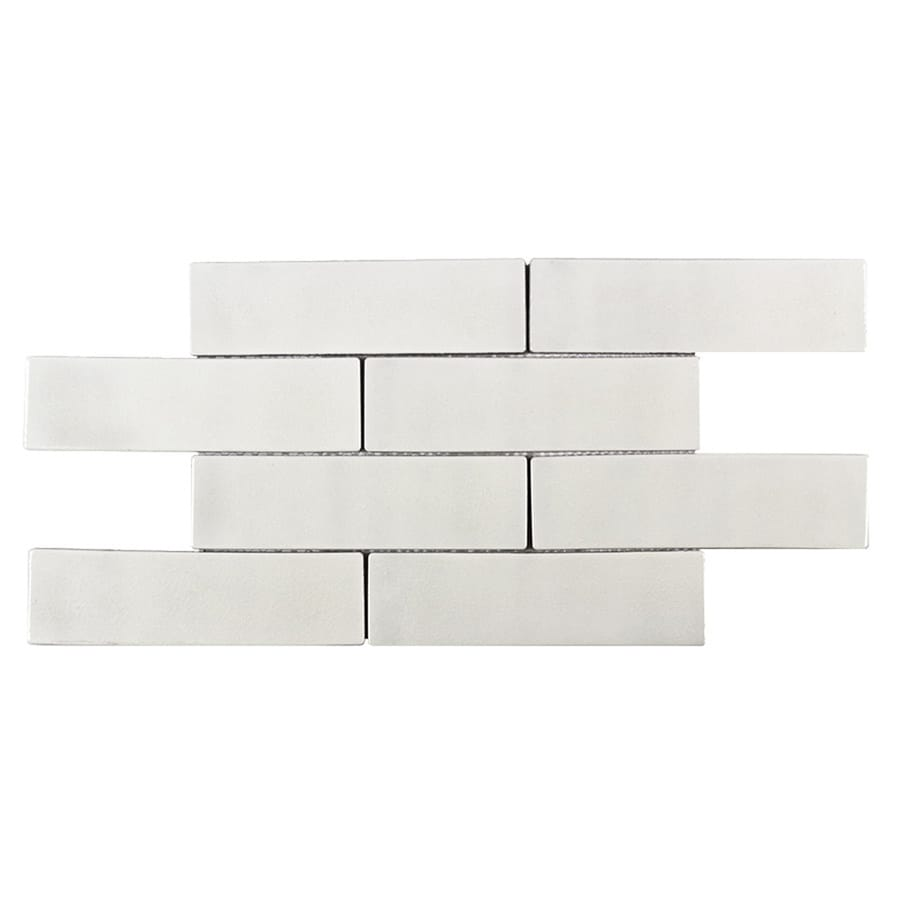 elida ceramica harmony white subway 12 in x 15 in glazed ceramic brick subway wall tile