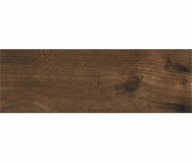 Ceramicas Tesany Acadia Brown Brown Matt  In X  In Ceramic Wood Look