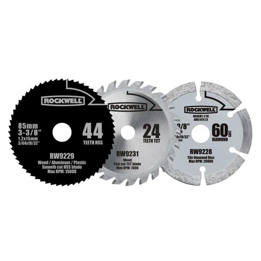 rockwell versacut 3 3 8 in 24 tooth carbide circular saw blade set