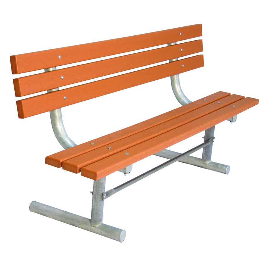 Ultra Play 72 In L Recycled Plastic Park Bench At Lowes Com