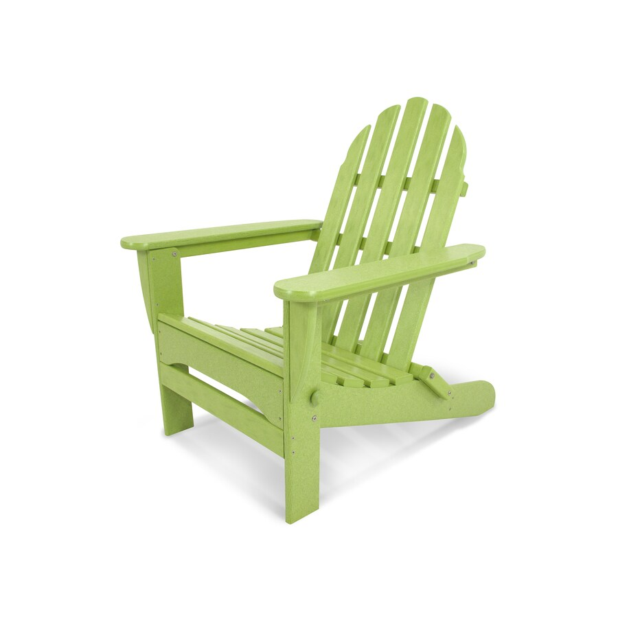 polywood classic adirondack chair french country round table and chairs hdpe with slat at lowes com