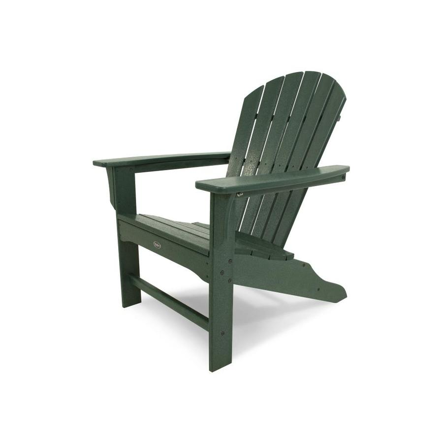 adirondack chairs at lowes transfer from bed to chair shop trex outdoor furniture cape cod plastic with slat seat lowes.com