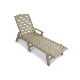 outdoor chaise lounge chairs with wheels replacement cushions for rattan patio at lowes com trex furniture yacht club plastic chair slat