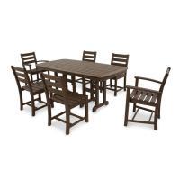 Shop Trex Outdoor Furniture Monterey Bay 7-Piece Brown ...