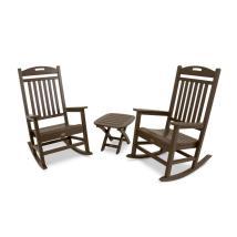 Trex Outdoor Furniture Yacht Club 2-piece Brown Plastic