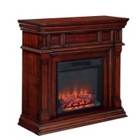 Shop Style Selections 42-in W 4,800-BTU Cherry Wood Fan ...