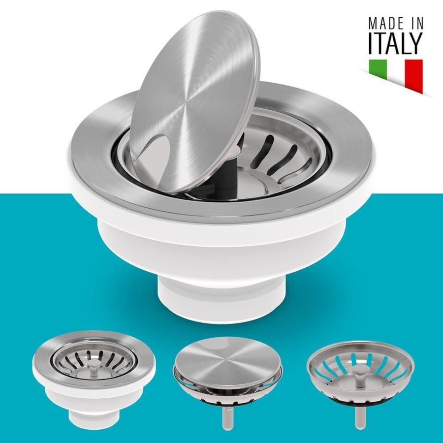 kraus kraus kitchen sink strainer 3 5