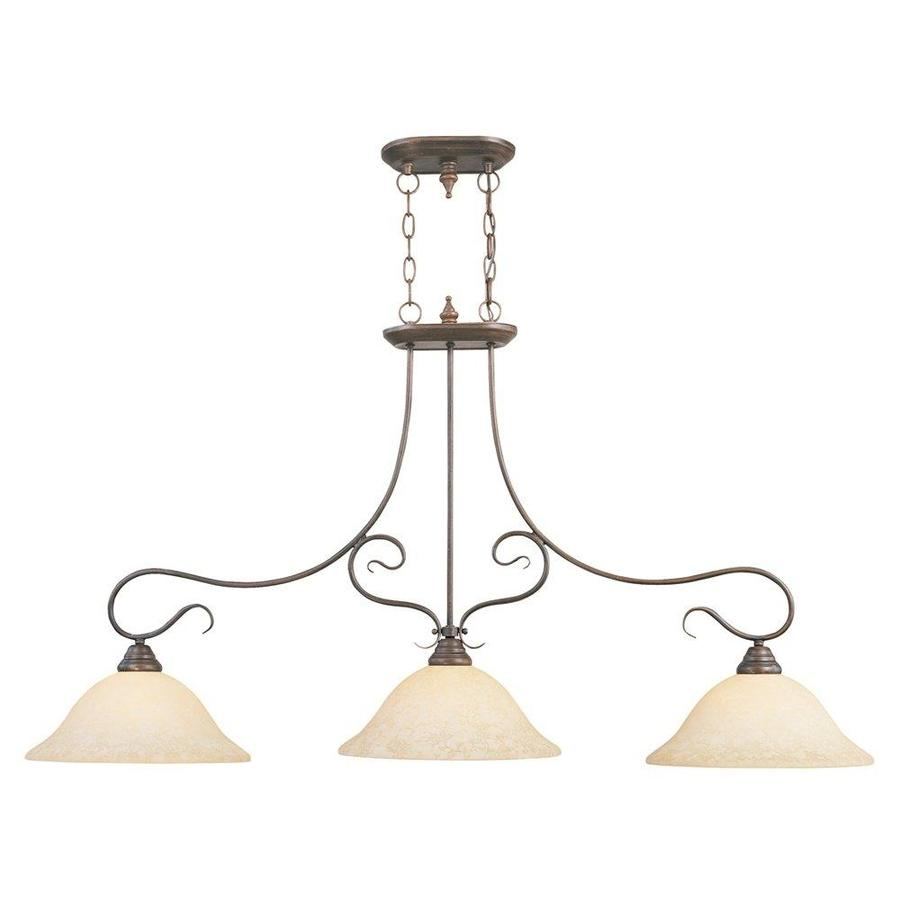livex lighting coronado imperial bronze transitional kitchen island light