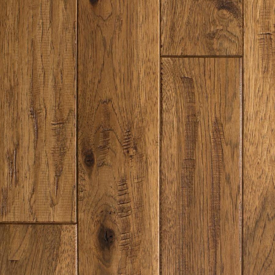 Mullican Flooring Knob creek 4in Saddle Hickory Solid Hardwood Flooring 16sq ft at Lowescom