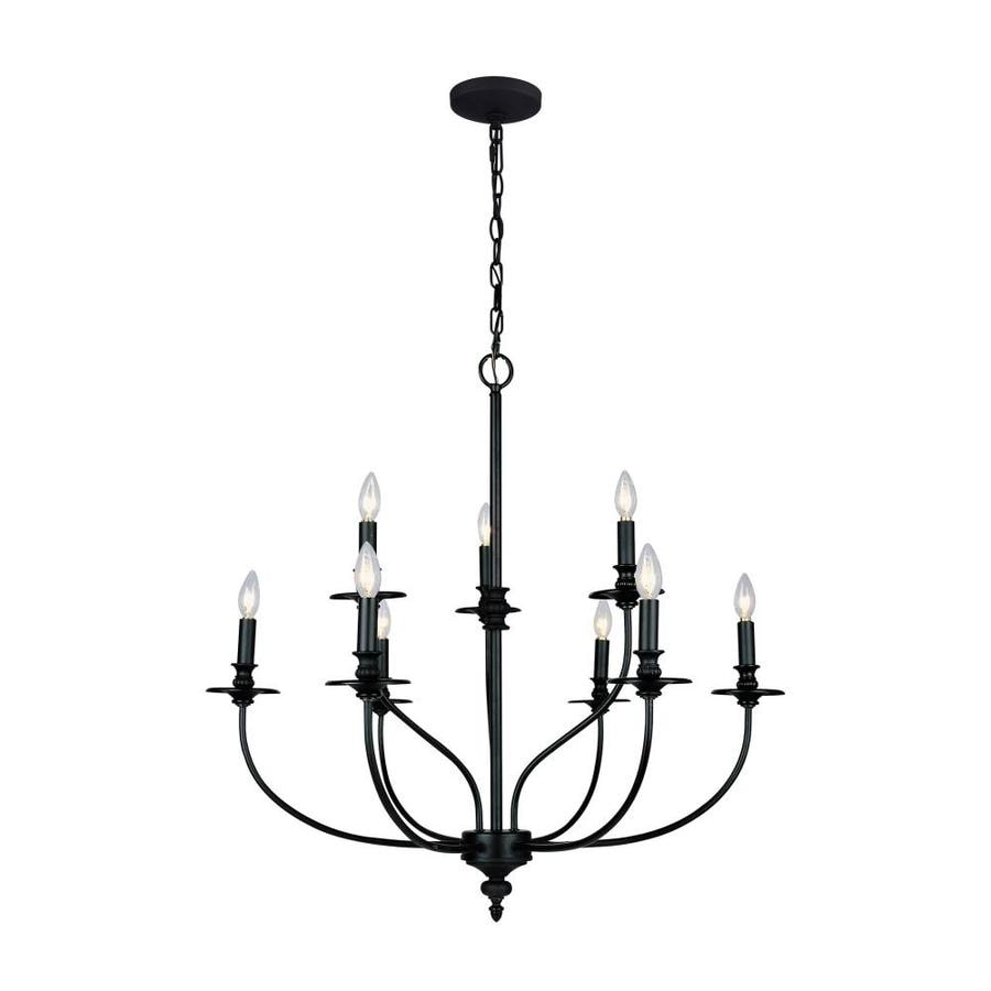 Shop Westmore Lighting Spades 9-Light Oil Rubbed Bronze