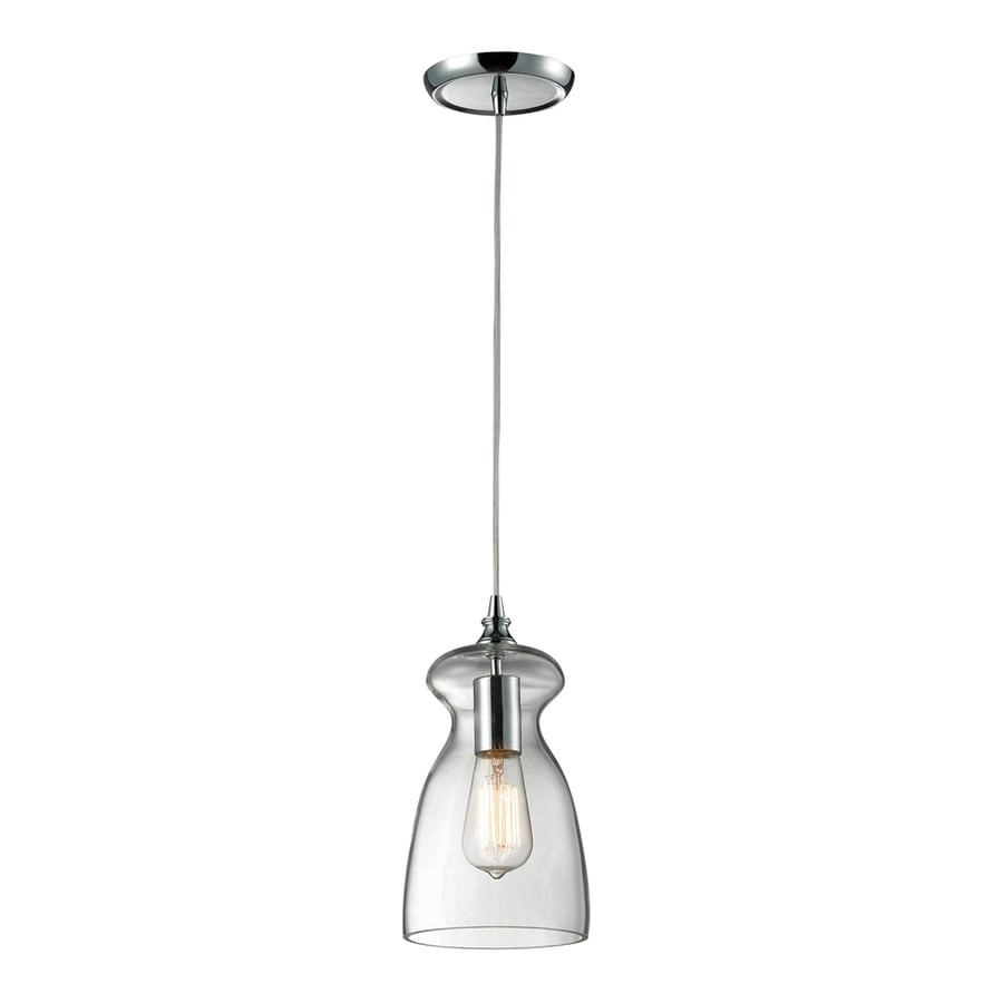 Shop Westmore Lighting Alvingham 6 In Polished Chrome And
