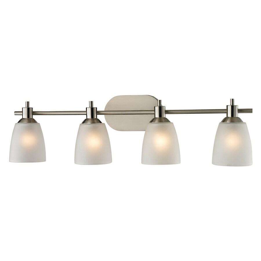 medium resolution of westmore lighting fillmore 4 light 31 in brushed nickel oval led vanity light