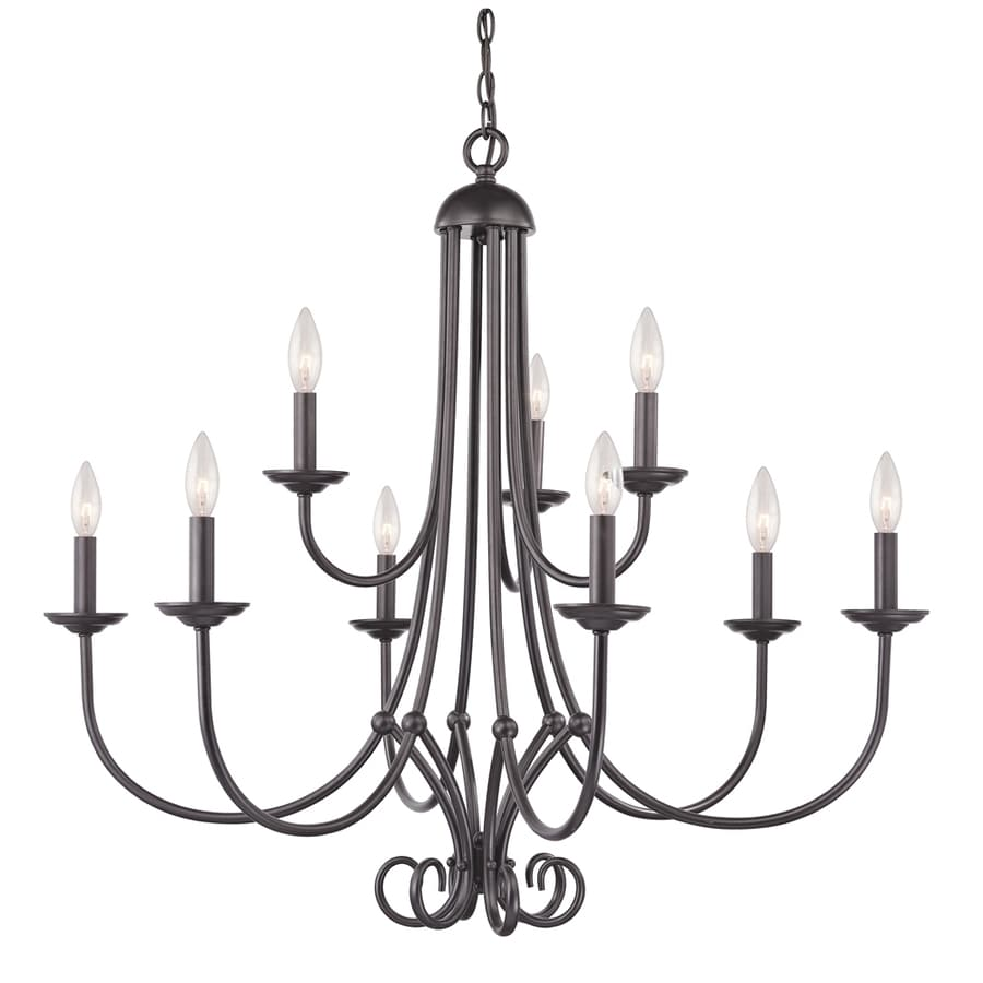 Westmore Lighting Weatherly 9-Light Oil-Rubbed Bronze