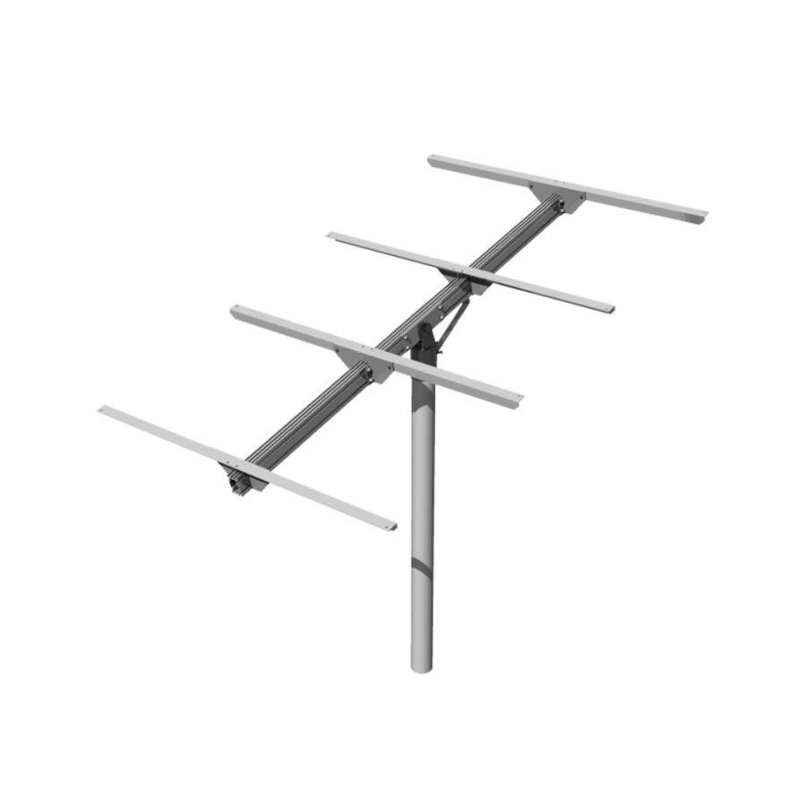 Shop DPW Solar Top Mount Pole Solar Panel Rack at Lowes.com