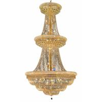 Shop Luminous Lighting Primo 42-in 38-Light Gold Empire ...