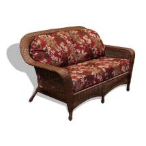 Tortuga Outdoor Lexington Wicker Loveseat With