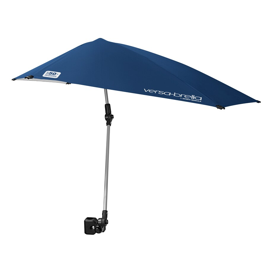 Clamp On Chair Umbrella Sport Brella 35 04 In Midnight Blue Versabrella Automatic Bubble