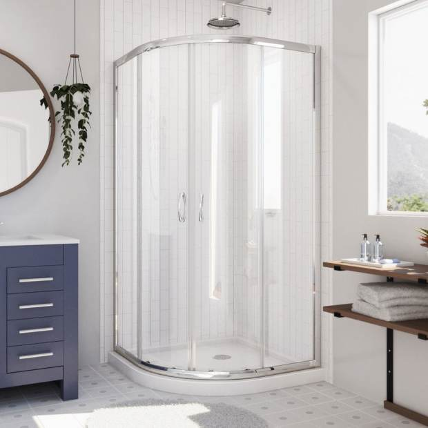 Corner Shower Pan Dimensions - Home Design Ideas