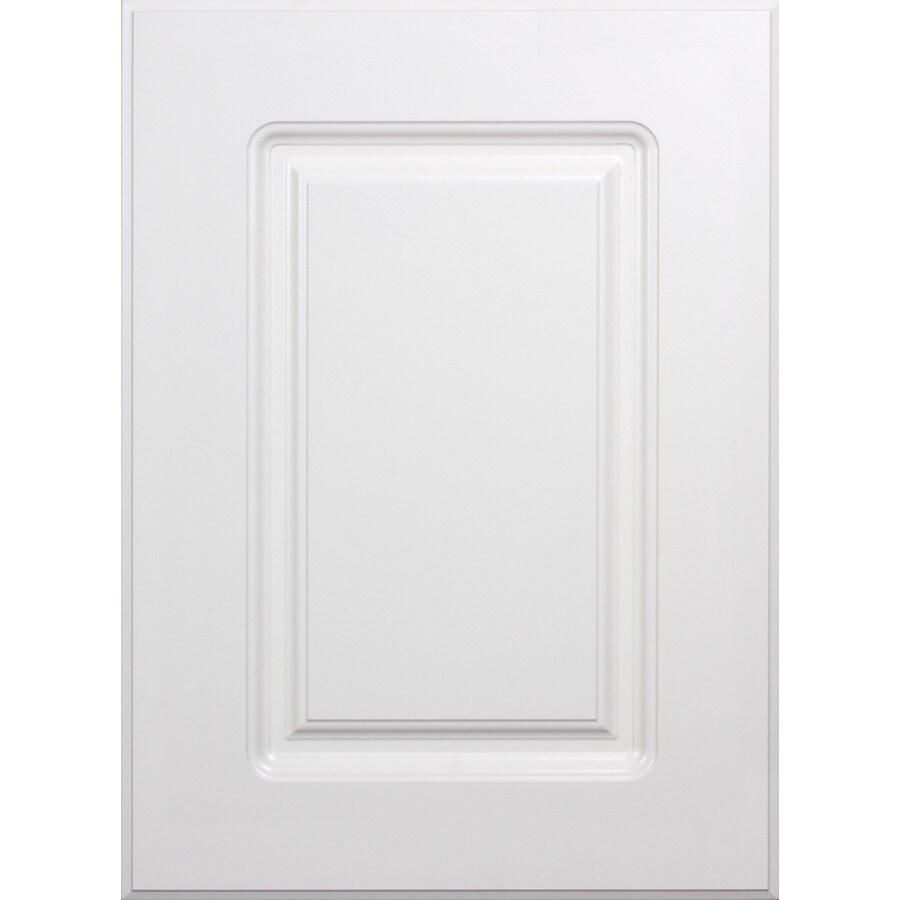 Lowes Kitchen Cabinets Doors Replacement Surfaces 16-in W X 22-in H X 0.75-in D Rigid Thermofoil