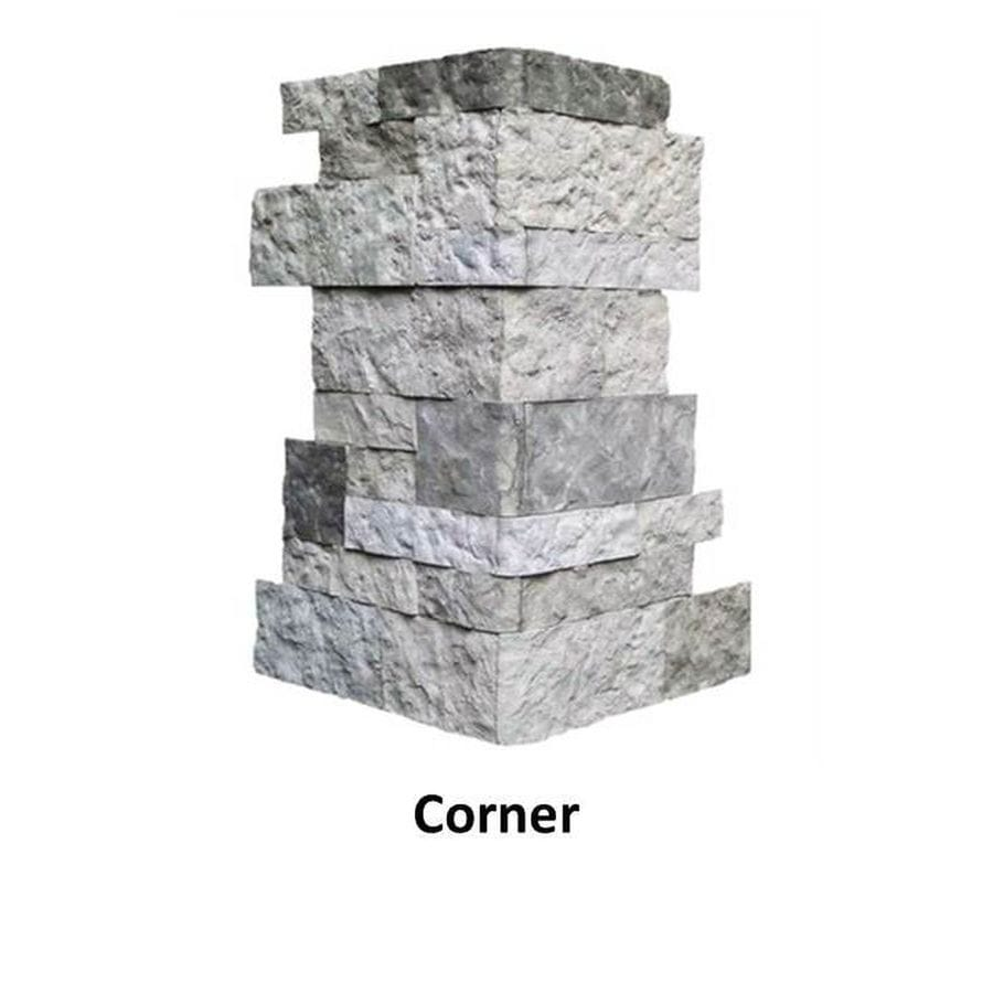 AirStone Spring Creek 6lin ft Outside CornerFinished End