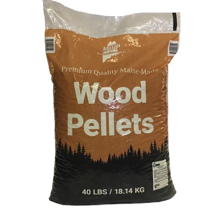 Maine Woods Pellet Company Premium Wood Pellets 40 Lb at