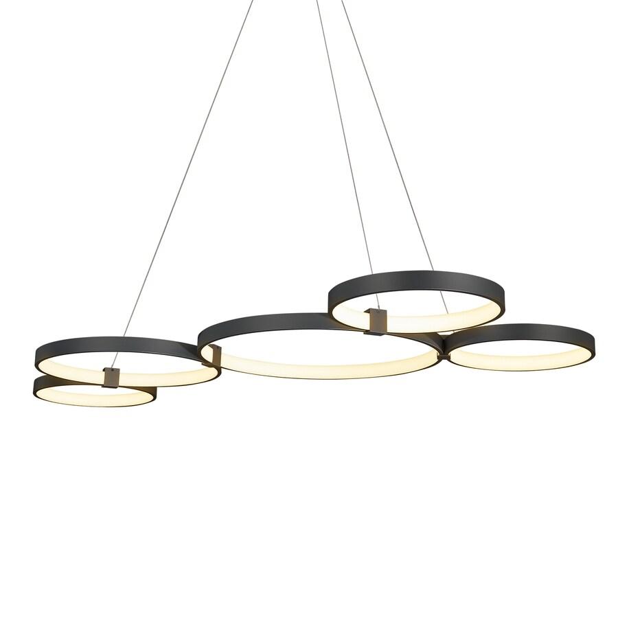 vonn lighting capella black modern contemporary cage chandelier