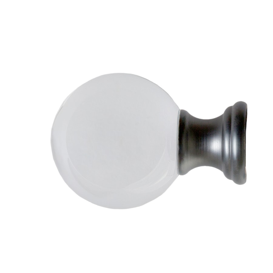 curtain rod finials at lowes com