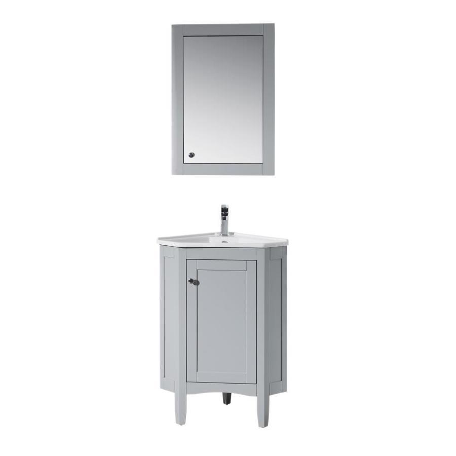 Corner Bathroom Vanities At Lowes Com