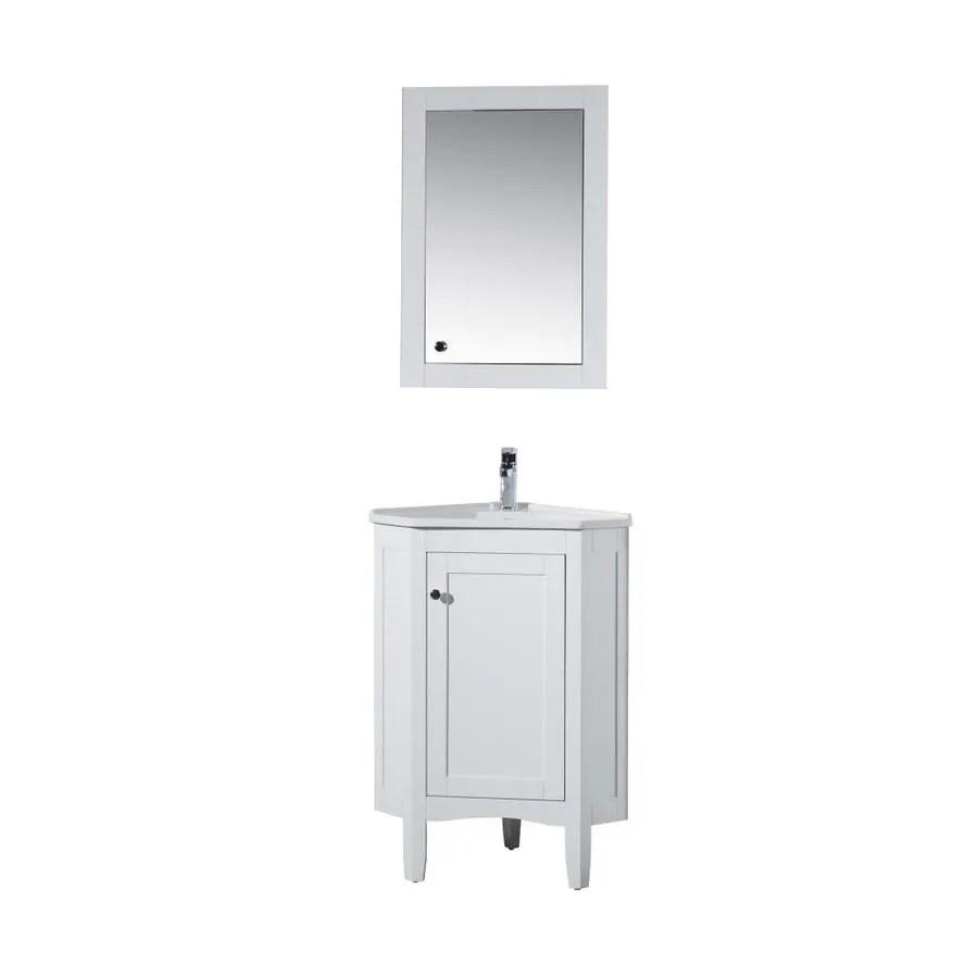 Corner Bathroom Vanities With Tops At Lowes Com