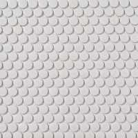 Shop Style Selections White Penny Round Mosaic Porcelain ...