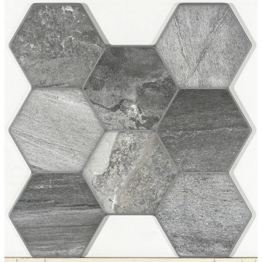 floor hexagonal tile at lowes com