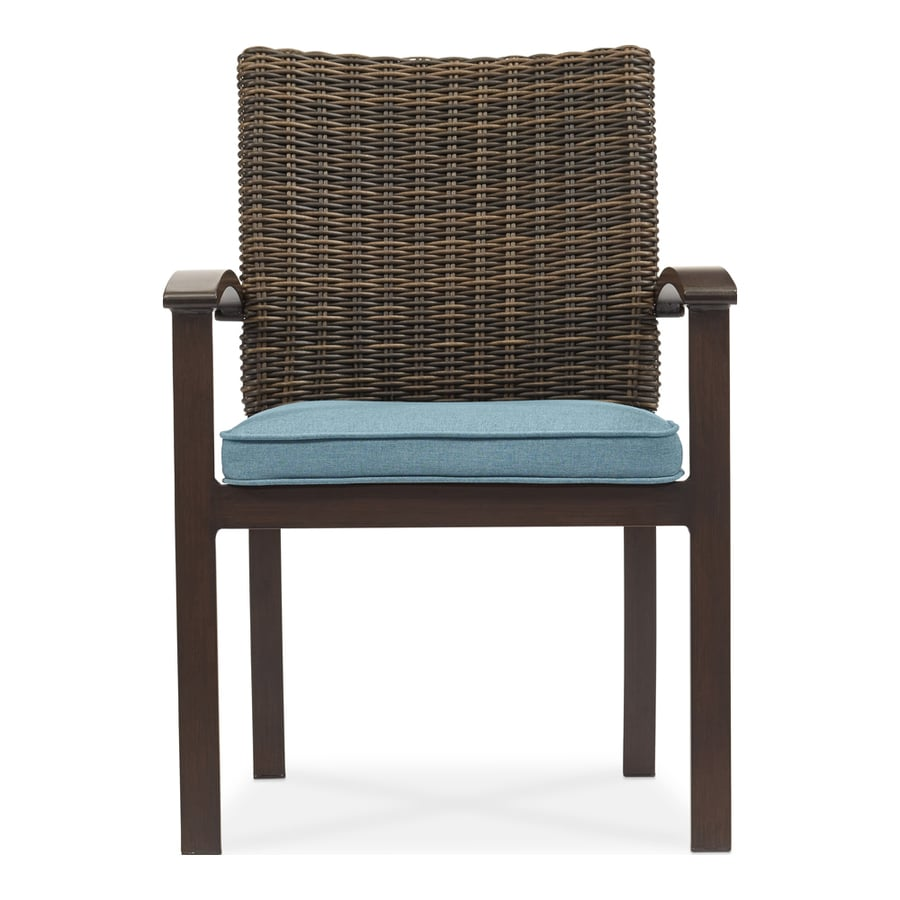 Shop allen + roth Atworth Set of 4 Aluminum Dining Chairs