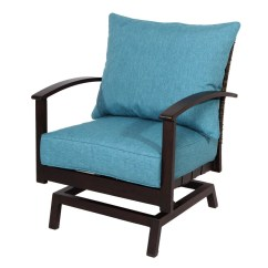 Blue Green Chair Pedicure Wholesale Patio Chairs At Lowes Com Allen Roth Atworth Set Of 2 Aluminum Conversation With Peacock Cushion