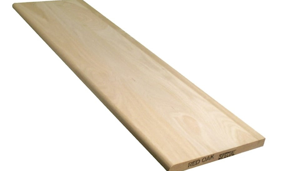 Stairtek 11 5 In X 42 In Unfinished Red Oak Stair Tread At | Oak Stair Treads At Home Depot