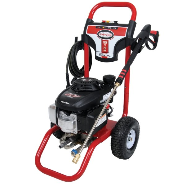 Simpson 2600-psi 2.3-gpm Gas Pressure Washer With Honda