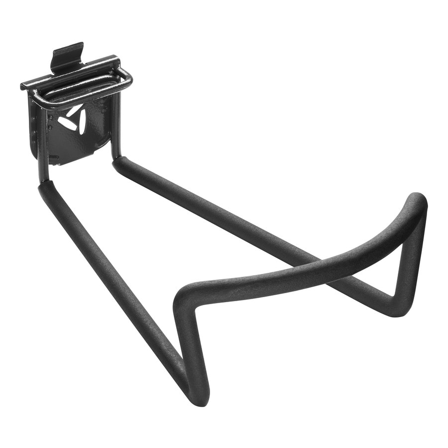 folding chair storage hooks chippendale dining chairs garage at lowes com gladiator deep hook 11 in black steel multipurpose