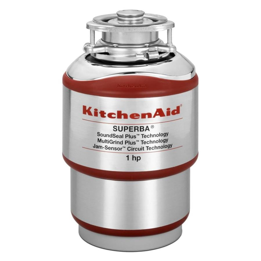 Shop KitchenAid 1HP Continuous Feed Noise Insulated Garbage Disposal at Lowescom