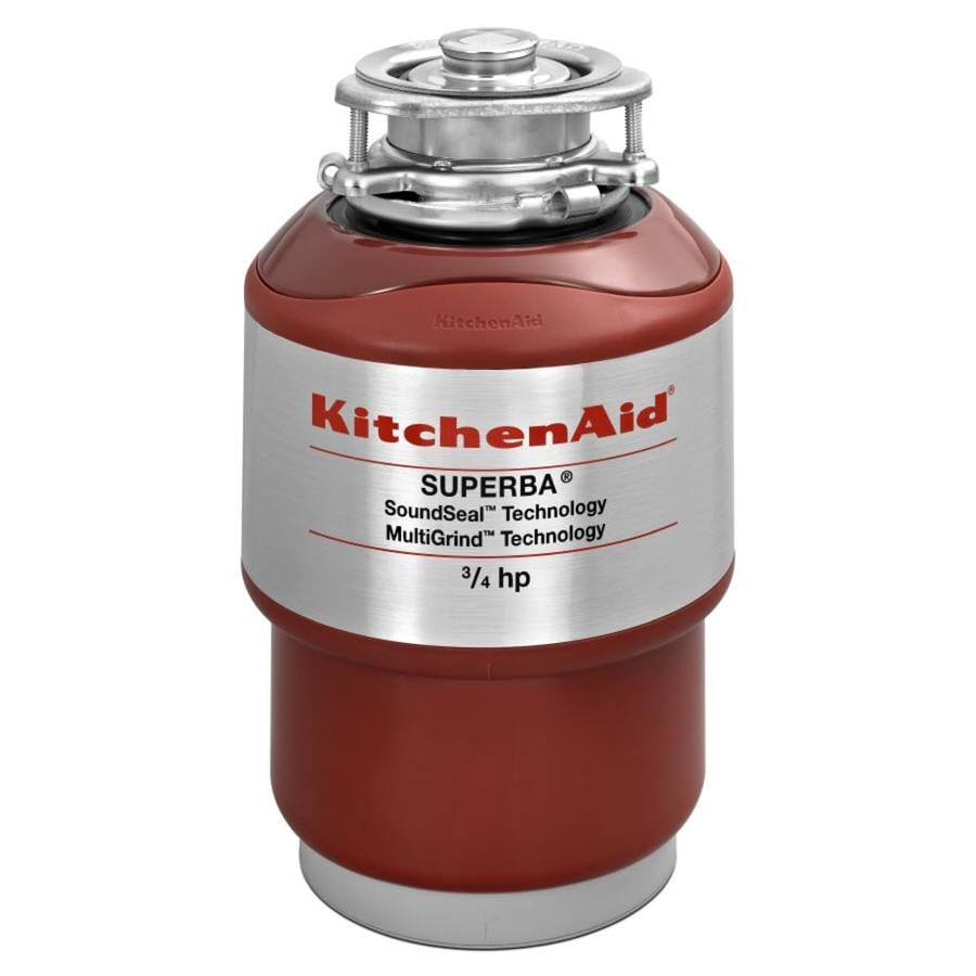 Shop KitchenAid 34HP Continuous Feed Noise Insulated Garbage Disposal at Lowescom