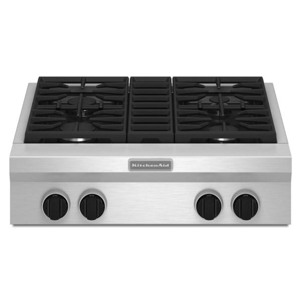 KitchenAid Gas Cooktops 30 Inch