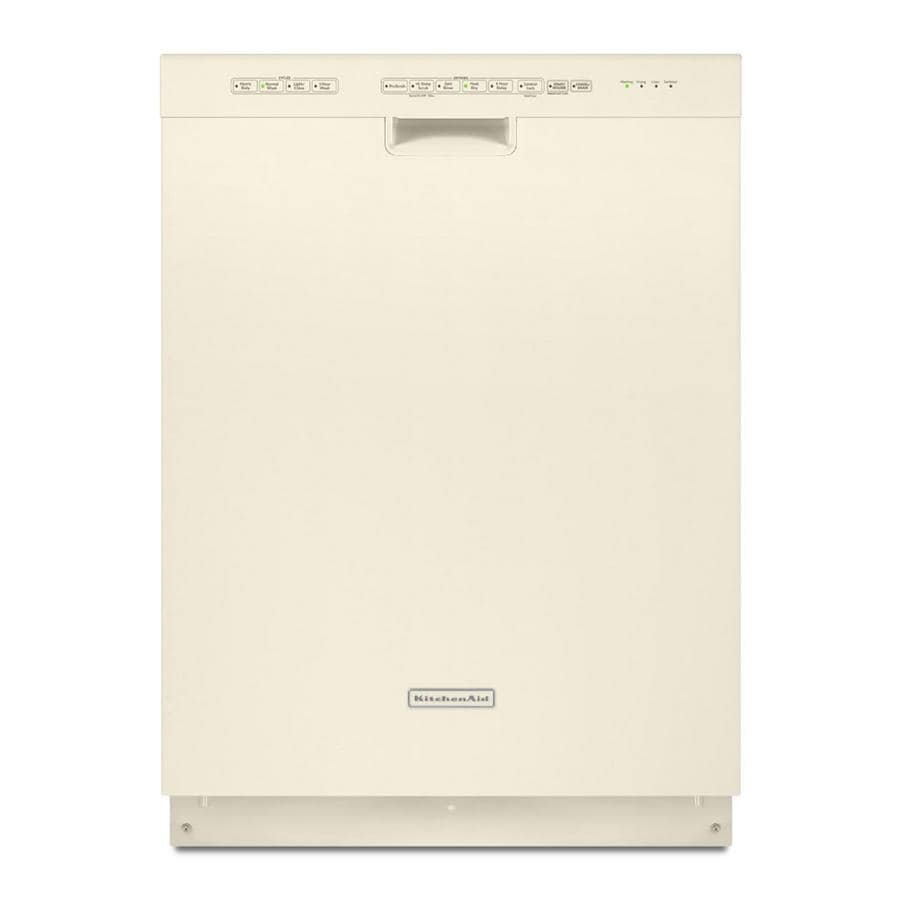 kitchen aid dishwashers cabinates kitchenaid 24 built in dishwasher with hard food disposer bisque energy star