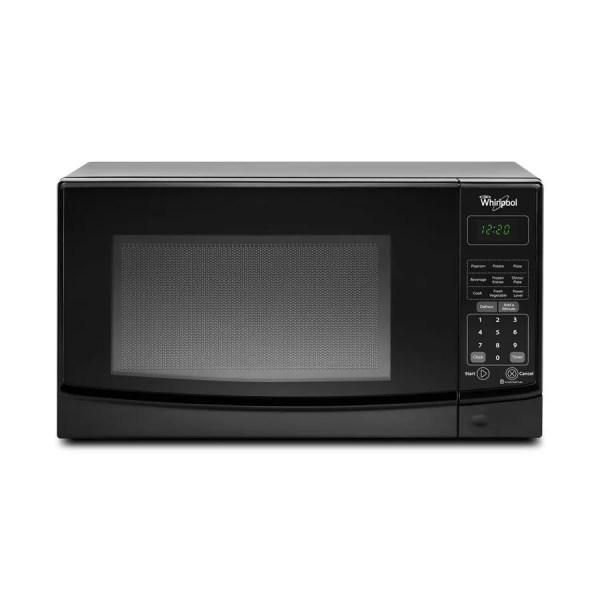 Whirlpool 0.7-cu Ft 700-watt Countertop Microwave Black