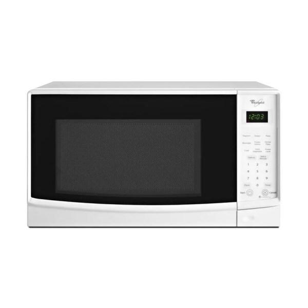 Whirlpool 0.7-cu Ft 700-watt Countertop Microwave White