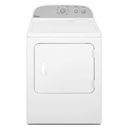 small resolution of whirlpool 7 cu ft gas dryer white on white