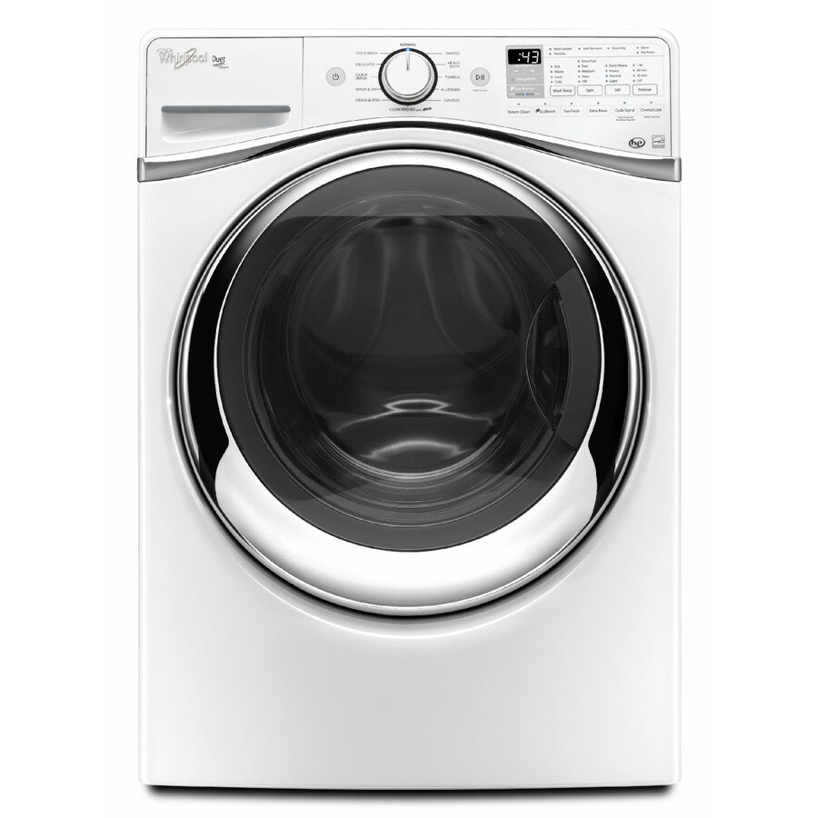 medium resolution of whirlpool duet 7 3 cu ft stackable electric dryer white