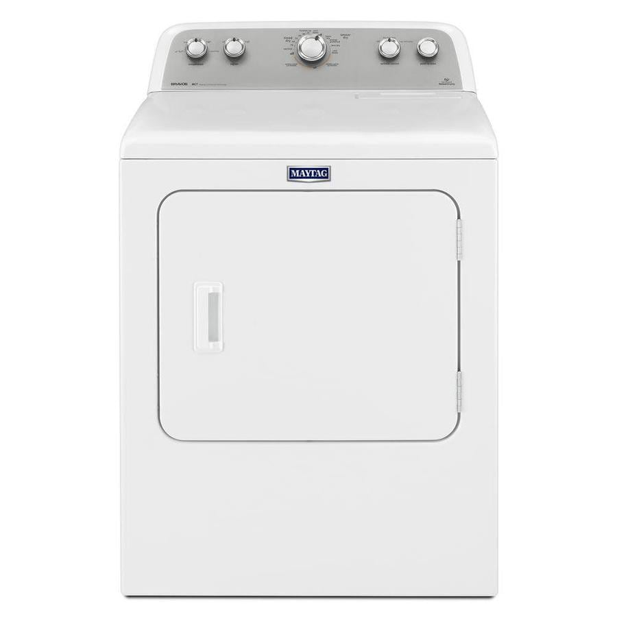 hight resolution of maytag 7 cu ft electric dryer white at lowes com old maytag electric dryer wiring diagram for