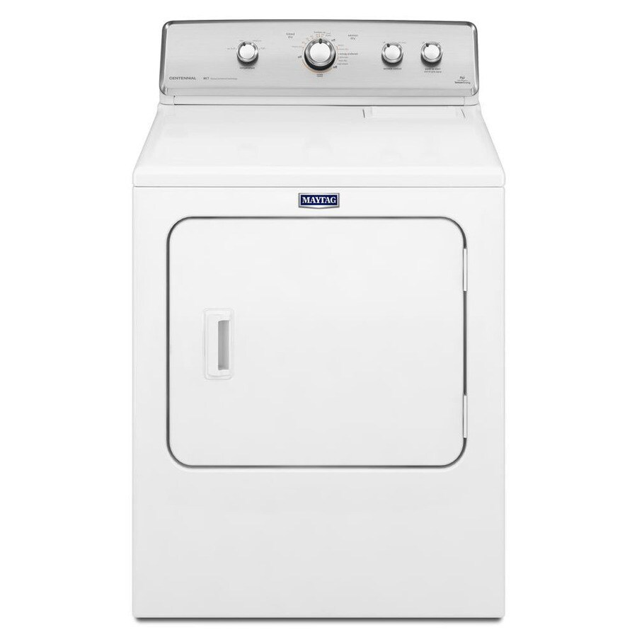 hight resolution of maytag centennial 7 cu ft gas dryer white