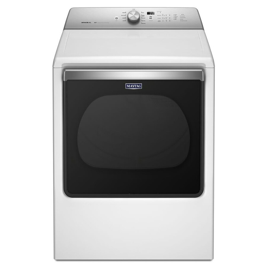 hight resolution of maytag 8 8 cu ft electric dryer white energy star