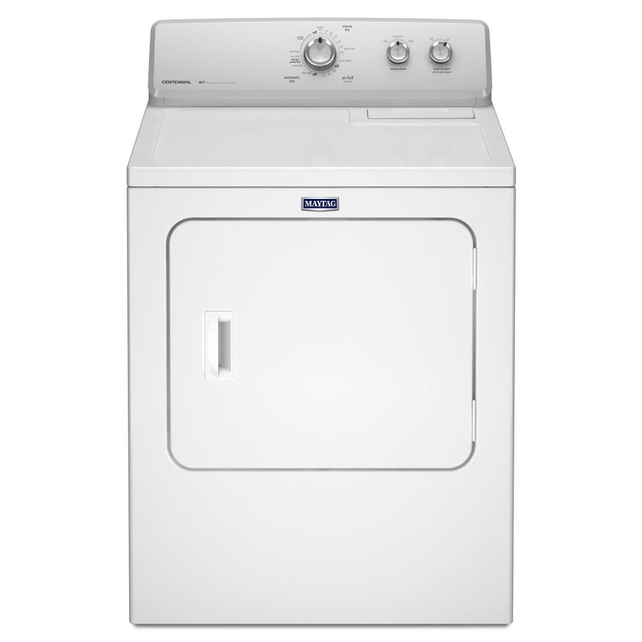 medium resolution of maytag 7 cu ft electric dryer white while supplies last