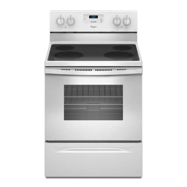Whirlpool Smooth Surface Freestanding 4 4.8-cu Ft